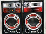 Sistem acustic karaoke Ailiang USBFM 610D cu garantie 1 an si cu livrare gratuita