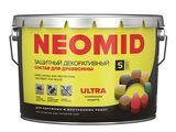 Защитный-декоративный состав для древесины neomid bio color ultra