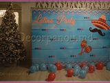 Fotopanou, fotostand, panou foto, banner , brandwall pentru Revelion si Craciun