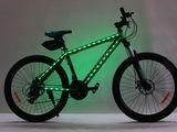 New,,biciclete cu lumina led,aluminiu 26 posibil in rate la 0% comision