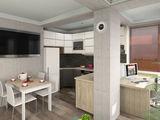 Se vinde apartament cu 2 dormitoare, bucătărie + living, 37000 e