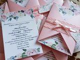 Carduri, bomboniere, plicuri pentru bani, invitații, Candy Bar, Masa Forshet etc.