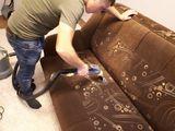 Curatare canapele, saltele, mocheta. Химчистка мягкой мебели и ковролина, на дому