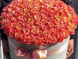 Flori și baloane cu heliu la comandă / Flori în cutie / 101 trandafiri / Buchete