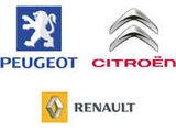 Запчасти Peugeot, Citroen, Renault, Dacia Opel Ford Volkswagen Audi Seat Fiat в наличии