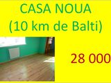 Casa noua (10 km de Balti)