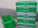 Lazi din plastic pliabile/ Складные пластиковые ящики 95 lei