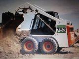 Oferim servicii cu bobcat (mini/încărcator) tractor,excavator