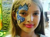 Face paiting, боди-арт, аниматор aквагример, рисунки на лице, Animator Desen pe față,