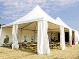 Corturi, mese, scaune, încălzitoare terasă - pentru nunti, cumetrii, ceremonii - chirie