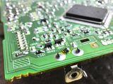 Ремонт дефектов автомагнитол, repararea defectelor în radioul auto, Панель приборов дисплей. w211