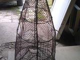 Ловушка для рыбы, Каркас из катанки