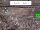 Участок у трассы - 37 сот Кишинев - Сынджера