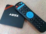 Nexbox  TV Box. Четырехъядерная интернет ТВ приставка. Android 6.1. Мини ПК + Кинотеатр + Плеер + Иг