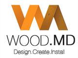 Totul din lemn - podea, perete, saună, scări, case