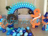 Decor cu baloane pentru evenimente Externare de la maternitate Шары с гелием Baloane cu heliu Baner