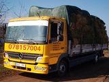 Transport de marfă(pînă la 8 tone)24/24 Грузоперевозки до 8 тонн