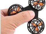 Мини квадрокоптер дрон  летающий спиннер  зарядка через usb