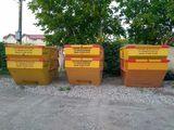 Вывоз мусора контейнером/бункером!