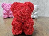 Мишка из роз, оригинальный подарок для девушки на 8 марта! Ursulet din roze