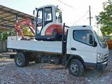 Evacuarea gunoiului din constructii transport utilaje / echipamente / excavatoare