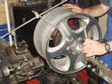 Ремонт литых дисков, сварка дисков, прокатка.