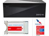 Ultra HD телевидение от Триколор (Vu Zero 4K + CI+ модуль) .