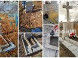 Реставрация памятников, благоустройство надгробий