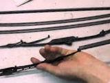 Меняю резинки на дворники бескаркасные или каркасные,  передние и задние!
