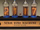 Часы на лампах Nixie clock подарок, который никого не оставит равнодушным...