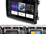 Штатная магнитола 9-дюймов Android -Volkswagen-Audi-Skoda-Seat оригинал.Камера в подарок