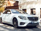 Mercedes S Class AMG Long full - 25 €/ora (час) & 149 €/zi (день)