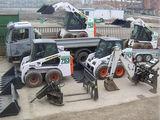Bobcat, Excavator, Compactor, Kamaz, Manipulator servicii.