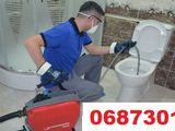 Desfundarea canalizare veceu, cazi, chiuvete, tevi - чистка канализаций унитазов установка