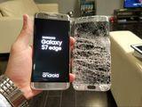 Профессиональная замена стекла Samsung Galaxy S6 S6 edge S7 edge