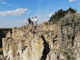 Восхождение на скалы старого Орхея. Туризм по Молдове