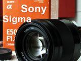 Куплю объективы Sony E-Mount. Cumpar obiective Sony E-Mount. (Sigma for Sony E-mount)