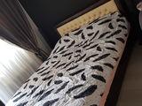 Vand pat de dormitor piele