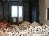 Демонтаж штукатурки, плитки, стяжки, стен.