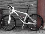 Bicicletă shockblaze r7 sl deore xt furcă rockshox dual air