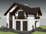 Дом котельцовый 120 м/кв в белом варианте 60000 Евро