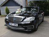 Mercedes-benz s-class 2014 alb&negru, авто на свадьбу!!! 109€/день