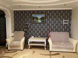 Spre vinzare apartament 3 odai,+3 balcoane, complet mobilat si utilat +birou.