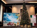 Press wall, fotopanou, fotostand, baner pentru Anul Nou, conferinta, evenimente corporative Revelion