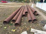 Трубы для канализации, водоснабжения диаметром 325мм. общая длина 90м.