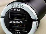 Оригинальное зарядное устройство BMW с двумя разъемами USB (84109363321-02)