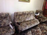 Продаётся мягкая мебель, диван + 2 раскладных кресла