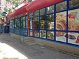 Продается магазин- павильон 202 кв м, с оборудованием. Ботаника, на троллейбусной остановки. 63000 e