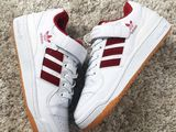 Adidas Forum Mid White Red