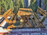 Комплекты мебели из дерева для сада и террасы